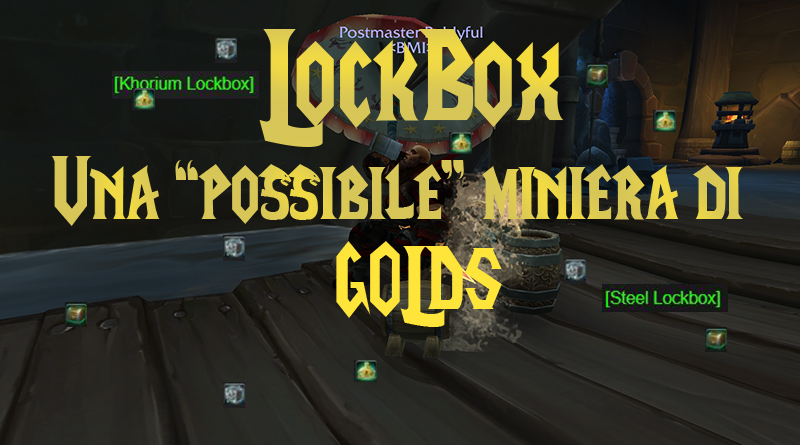 Lockbox: una possibile miniera di gold!